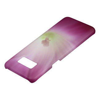 Gorgeous Bright Pink White Morning Glory Flower Case-Mate Samsung Galaxy S8 Case