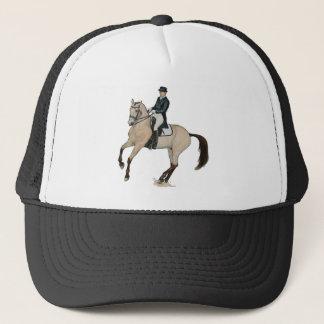Gorgeous Buckskin Dressage Horse Art Trucker Hat