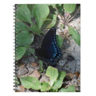 Gorgeous Butterfly Photograph Spiral Notebook