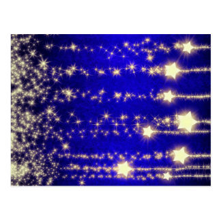 Gorgeous Christmas Star Night Image by BestPeople Post Cards