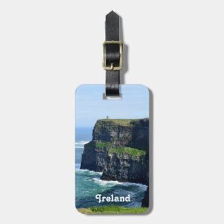 Gorgeous Cliffs of Moher Luggage Tag