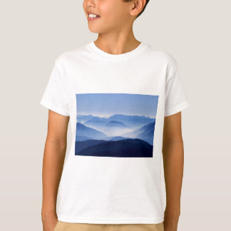 Gorgeous Colorful Misty Mountain Landscape T-Shirt