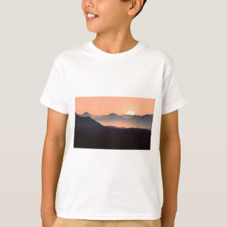 Gorgeous Colorful Misty Mountain Sunrise T-Shirt
