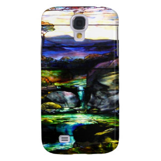 Gorgeous Colors Stain Glass Nature Galaxy S4 Case