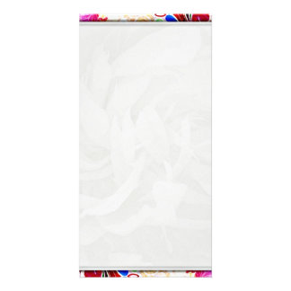 Gorgeous Creative floral wedding gift Picture Card