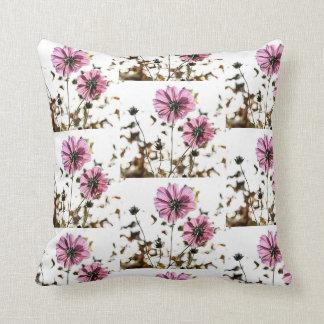 gorgeous dahlias floral Throw Cushion 41 x 41 cm