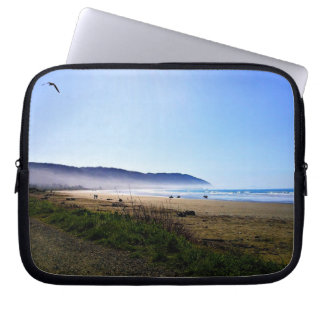 Gorgeous Day in Crescent City Beach, California Laptop Sleeve