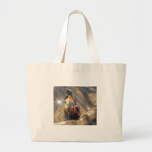Gorgeous Duck Photo Tote Bags