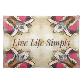 Gorgeous  Fall Yellow Simple Lifestyle Home Decor Placemat