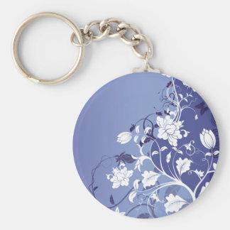 gorgeous fashion flower key ring