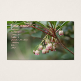 Gorgeous Floral Business Card