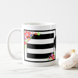 """Gorgeous Floral"" Mug Initials."