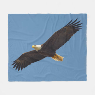 Gorgeous Flying Eagle Fleece Blanket