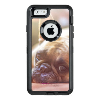 Gorgeous french bulldog lying down OtterBox iPhone 6/6s case