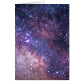 gorgeous galaxy print goodness card