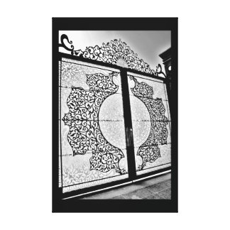 Gorgeous Gate Canvas Print