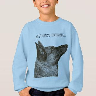 Gorgeous German Shepherd Photo Sweatshirt
