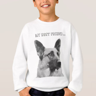 Gorgeous German Shepherd Photo Sweatshirt