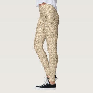 Gorgeous-Gold-Crochet-Dressy-Leggings Leggings