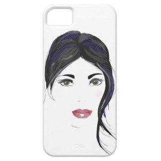 Gorgeous gothic girl phone case