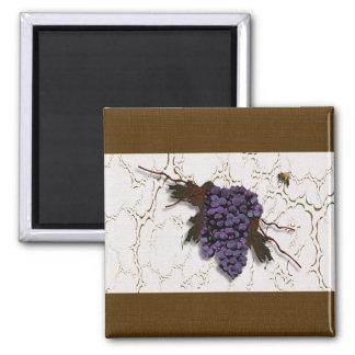Gorgeous Grapes Designer Magnet