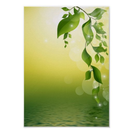 GORGEOUS GREEN VINES POSTERS