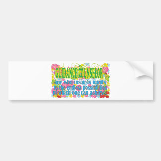 Gorgeous Guidance Counselors Gifts Bumper Stickers