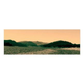 Gorgeous landscape photo art business cards business card