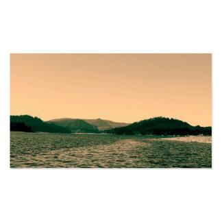 Gorgeous landscape photo art business cards business cards