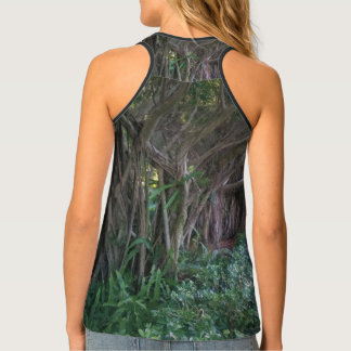 Gorgeous Magical Forest Trees Tank Top for Her