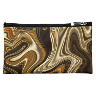 Gorgeous Marble Style - Warm brown Cosmetic Bag