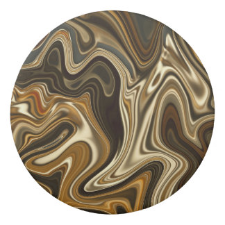 Gorgeous Marble Style - Warm brown Eraser