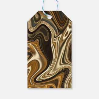 Gorgeous Marble Style - Warm brown Gift Tags