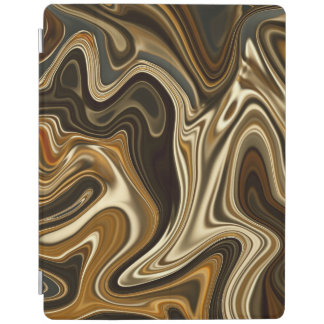 Gorgeous Marble Style - Warm brown iPad Cover