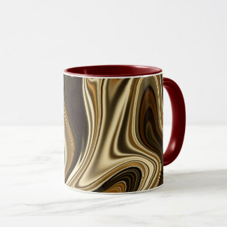 Gorgeous Marble Style - Warm brown Mug