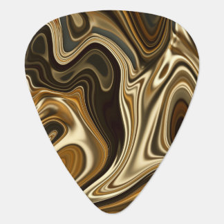 Gorgeous Marble Style - Warm brown Plectrum