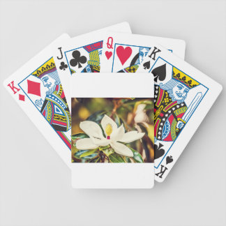 Gorgeous Mississippi Magnolia Bicycle Playing Cards