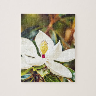 Gorgeous Mississippi Magnolia Jigsaw Puzzle