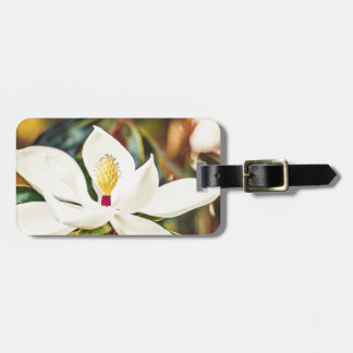 Gorgeous Mississippi Magnolia Luggage Tag