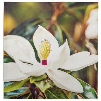 Gorgeous Mississippi Magnolia Napkin