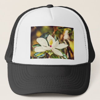 Gorgeous Mississippi Magnolia Trucker Hat