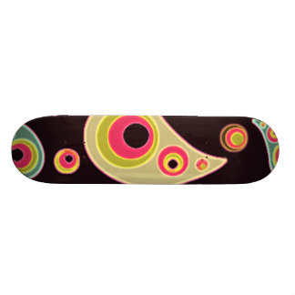 GORGEOUS MULTI SWIRL 21.6 CM SKATEBOARD DECK