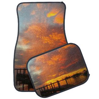Gorgeous Ocean Inlet Floor Mats Car Mat