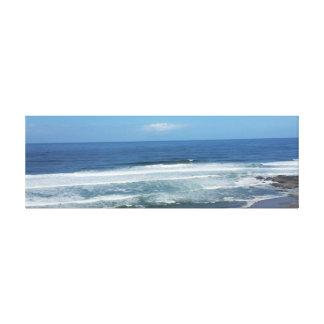 Gorgeous Oregon Coastal beach Stretched Canvas Print