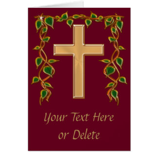 Gorgeous PERSONALIZED Christian Thank You Cards
