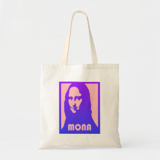Gorgeous Pop Art Style Mona Lisa Print- Tote