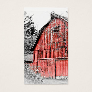 Gorgeous Red Barn Business Card