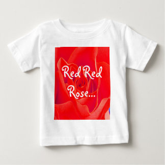Gorgeous Red Red Rose Infant T-Shirt