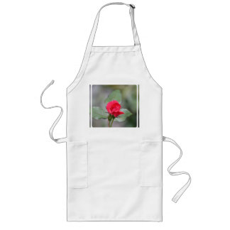 Gorgeous Red Rose Bud Aprons