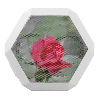 Gorgeous Red Rose Bud White Boombot Rex Bluetooth Speaker